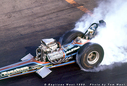 Cacklefest - The Poachers Top Fuel Dragster